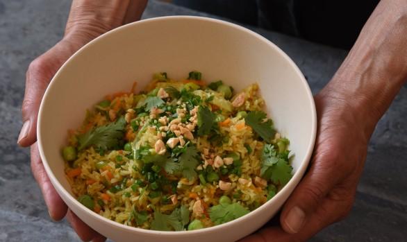 Madøret #6: Nonnerejsen, stegte ris med grøntsager og thaitiming